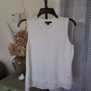 Tommy Hilfiger knit sleeveless top , size Medium